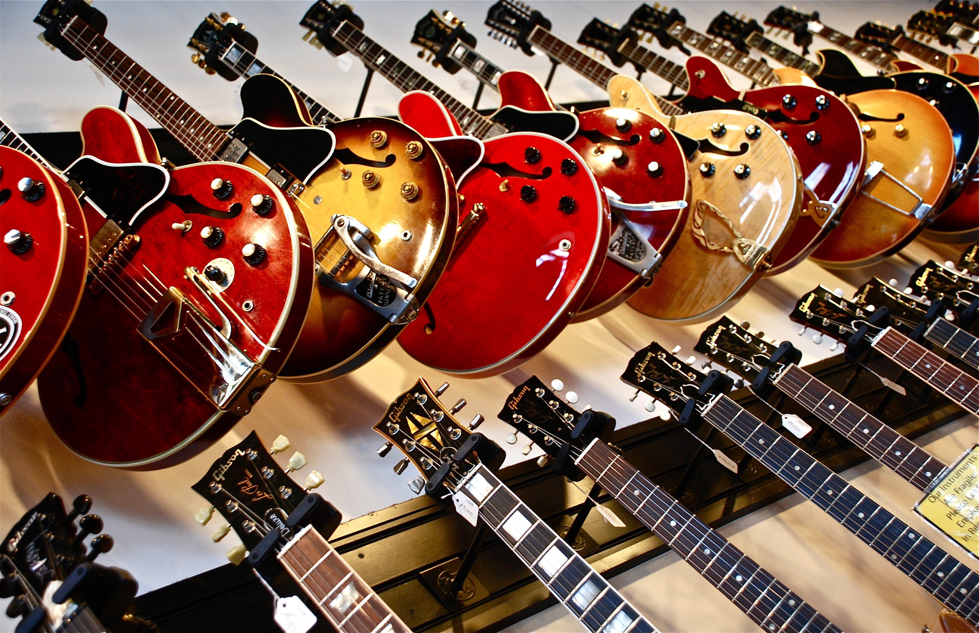 ギターを打ち込む方法